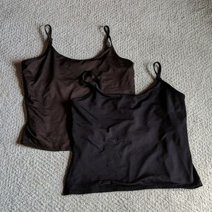 New York & Co Tanks with adjustable straps (XL)